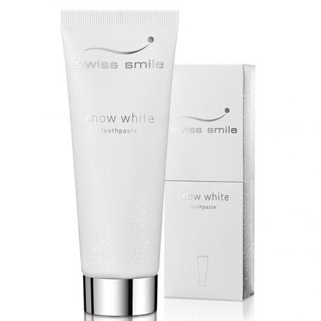 Swiss Smile Whitening zubná pasta 75 ml, Snow white