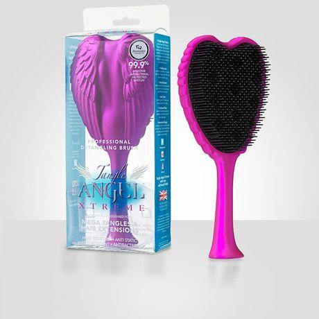 Tangle Angel Xtreme kefa na vlasy 1 ks, Fuchsia/ Black Bristles