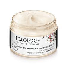 Teaology Black Tea krém na tvár 50 ml, Rose Tea Hyaluronic Moisturizing Cream