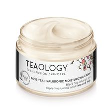 Teaology Black Tea krém na tvár 50 ml, Rose Tea Hyaluronic Moisturizing Cream