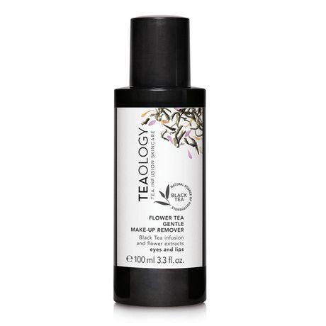 Teaology Black Tea odličovač na oči 100 ml, Flower Tea Gentle Make-up Remover