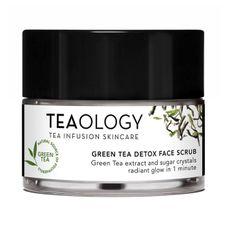 Teaology Green Tea peeling 50 ml, Detox Face Scrub