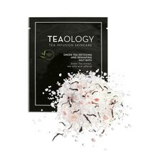 Teaology Green Tea soľ do kúpeľa 25 g, Detoxing and Reshaping Salt Bath