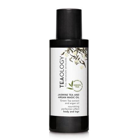 Teaology Green Tea telový olej 100 ml, Jasmine Tea and Argan Magic Oil