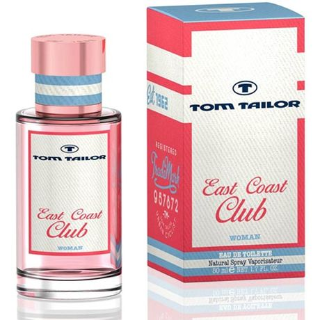 Tom Tailor East Coast Club Woman toaletná voda 50 ml
