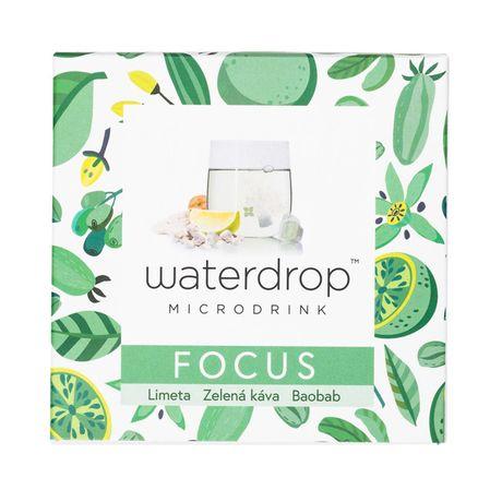 Waterdrop Focus šumivá kocka 12 ks