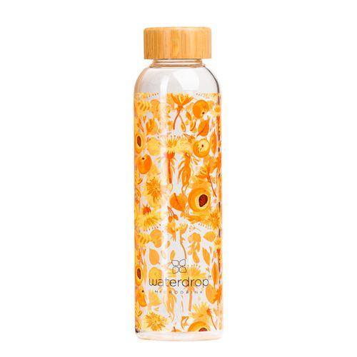 Waterdrop Youth fľaša 1 ks, Sklenená fľaša 550 ml